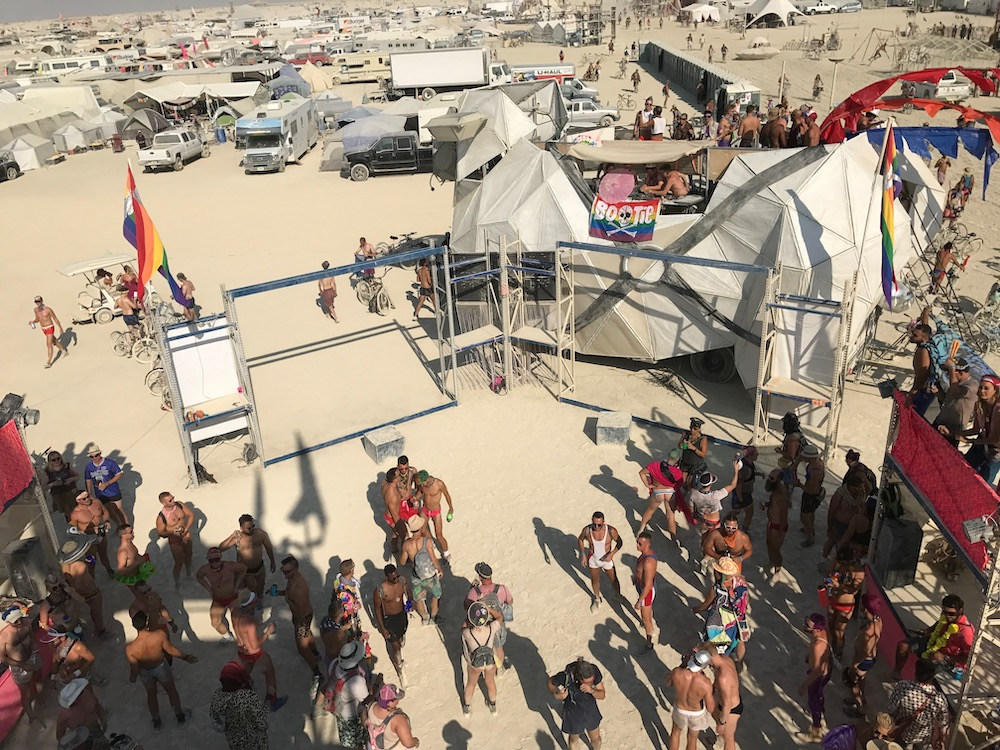burning man day party