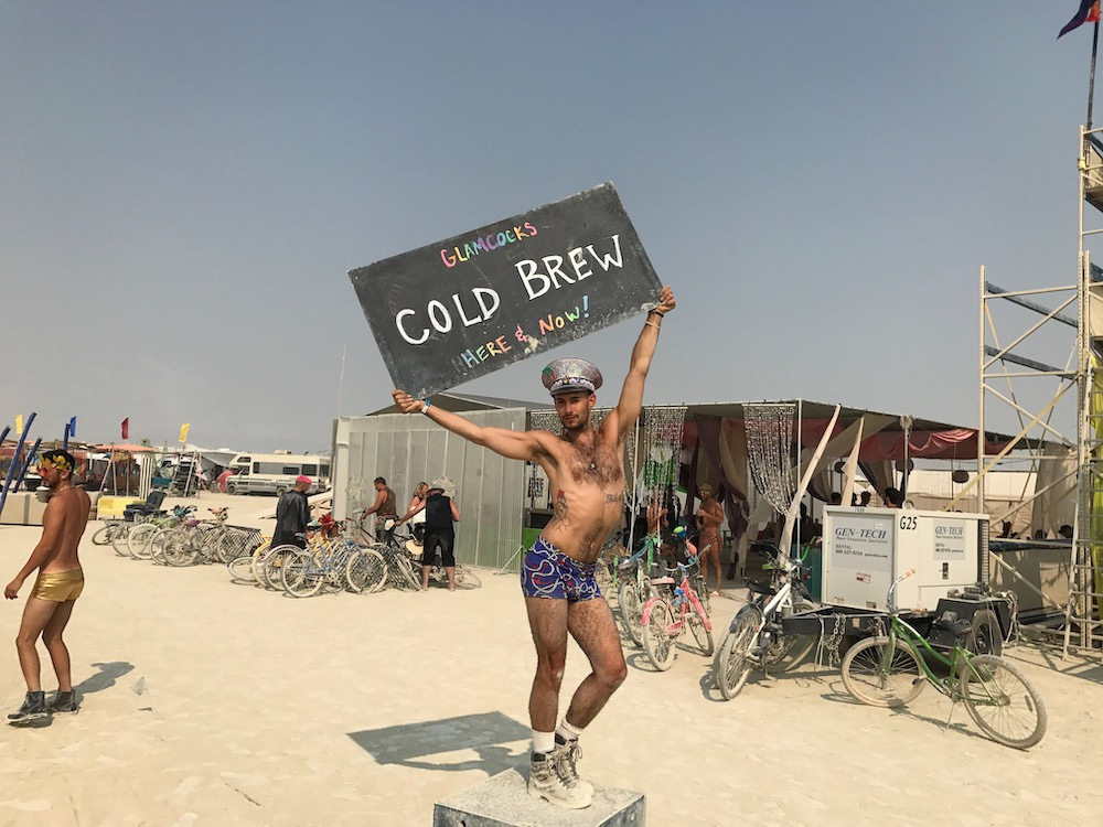 burning man cold brew