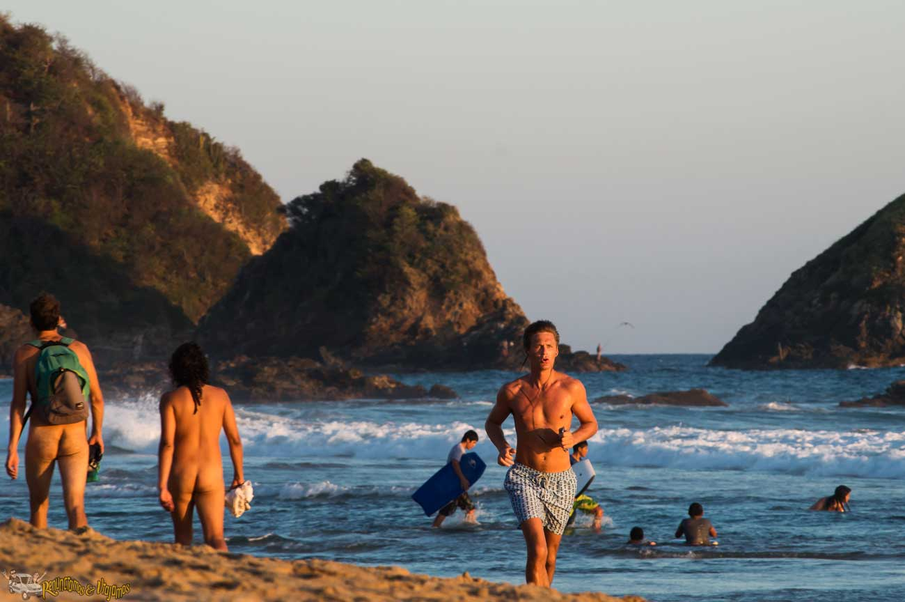 gay-friendly beaches mexican beaches zipolite
