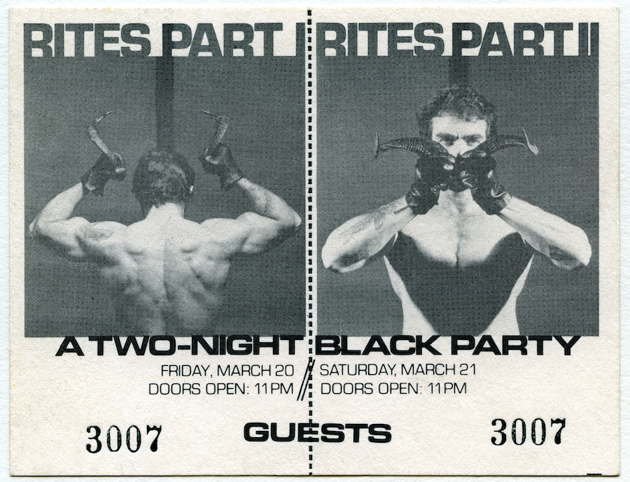black party nyc first ticket