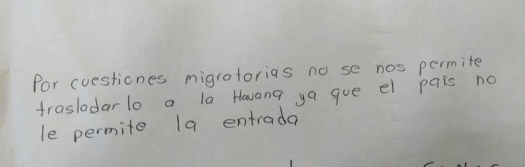 michael petrelis interjet note