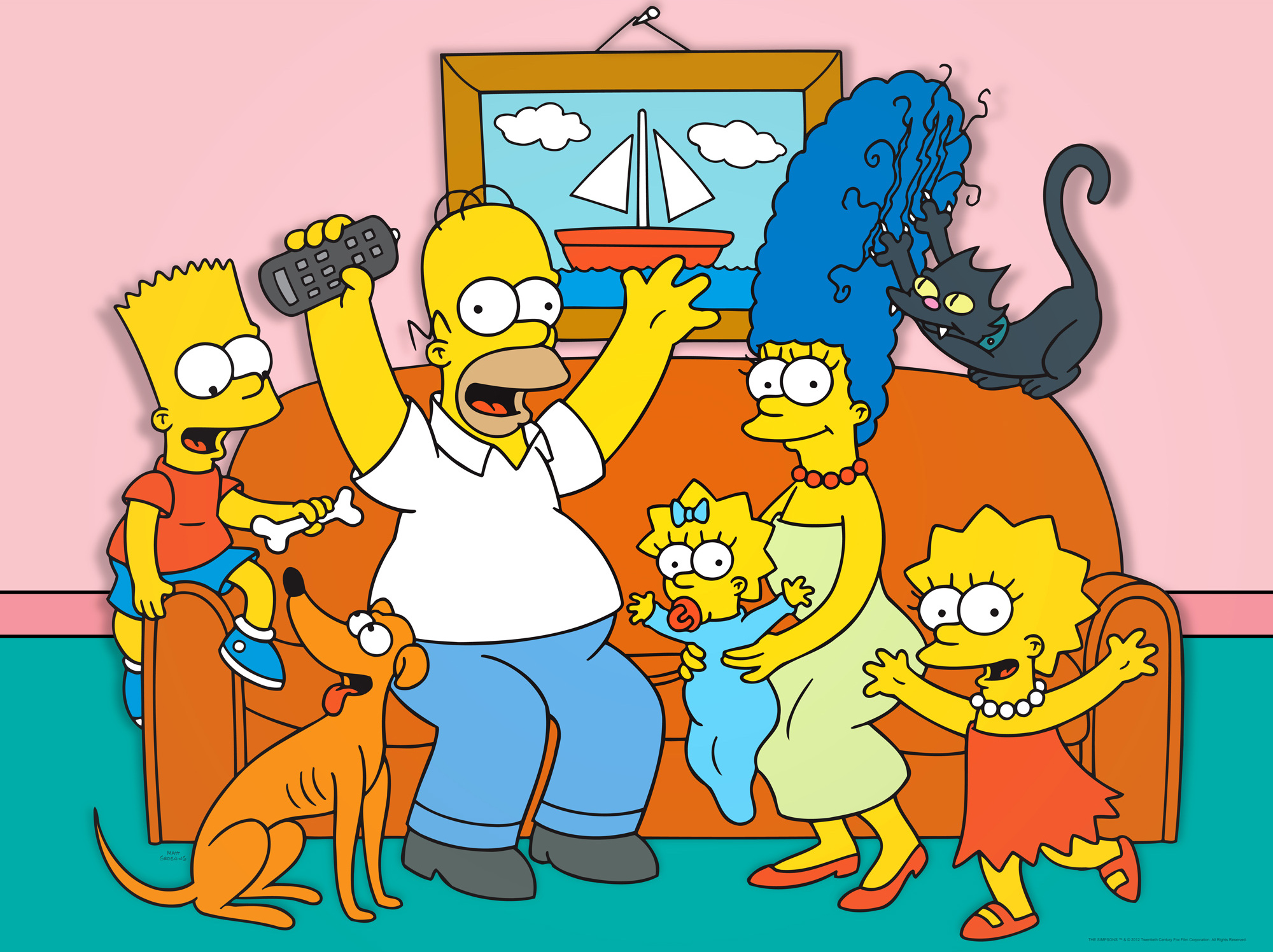 simpsons came true family