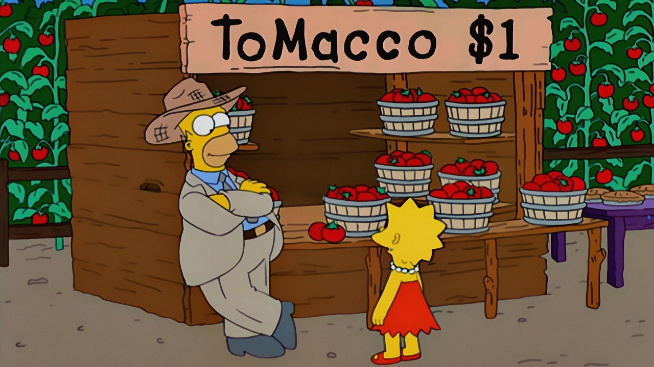simpsons came true tomacco