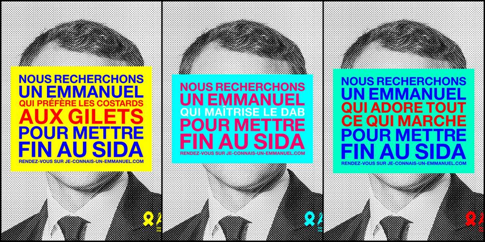 #LookingforEmmanuel: Aides interpelle Emmanuel Macron avec sa nouvelle campagne
