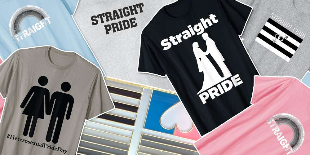 Crazy Heteros Are At It Again: 'Tis the Season for Eyeroll-Inducing Straight Pride Products