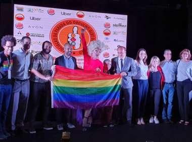 Coletiva de imprensa da Parada LGBT