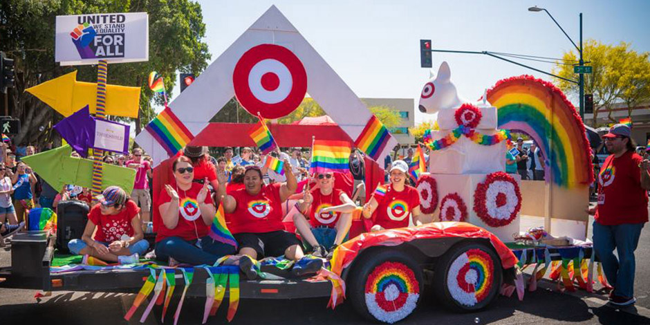 corporatization of pride target