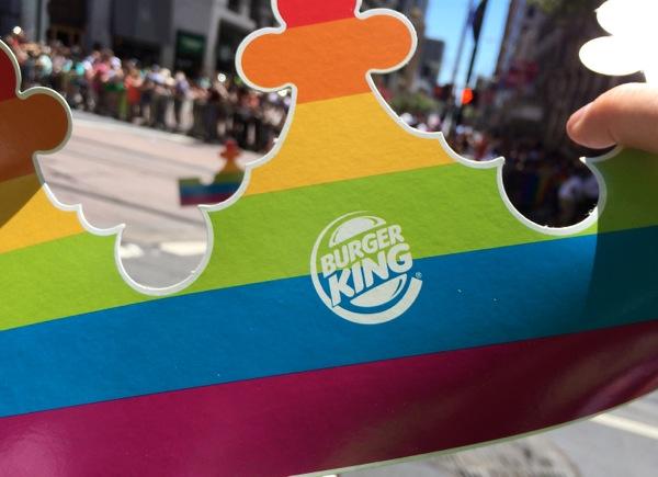 corporatization of pride burger king