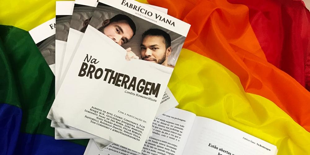"""Fabrício Viana lança seu sétimo livro """"Na Brotheragem: Contos Homoeróticos"""""""
