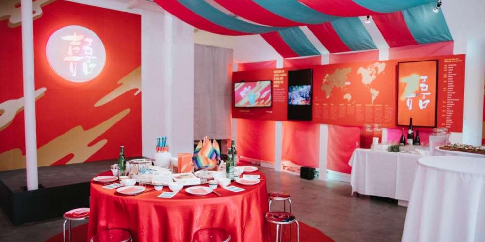 台式《囍宴》於紐約同志驕傲週盛大開幕  百人齊聚紐約畫廊歡慶 各國人權運動者現身致意