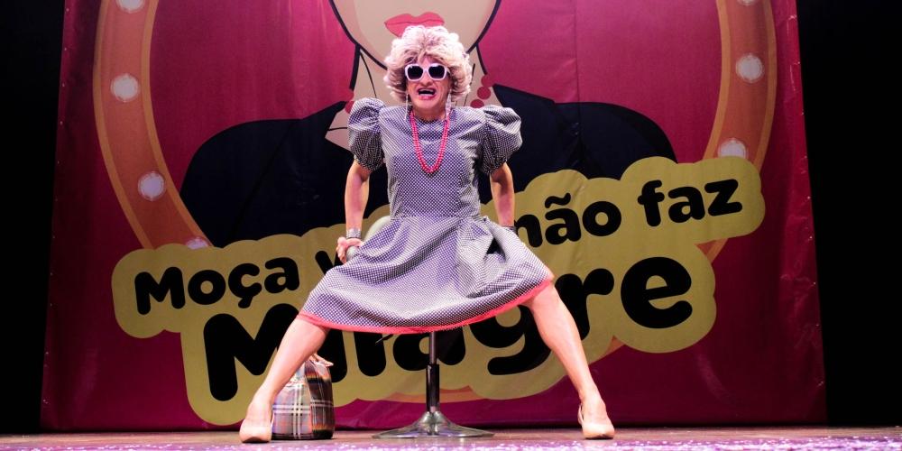 Moça Velha Não Faz Milagre comemora temporada no Shopping da Gávea