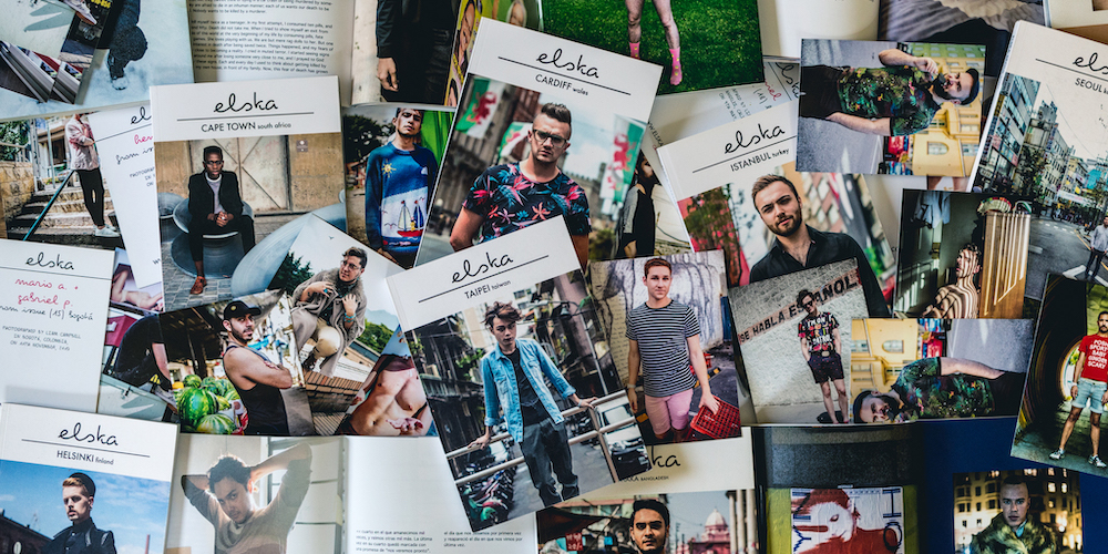 Happy 4th Birthday to 'Elska,' a Zine Celebrating Queer Men Around the World