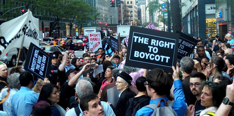 gay boycott protest