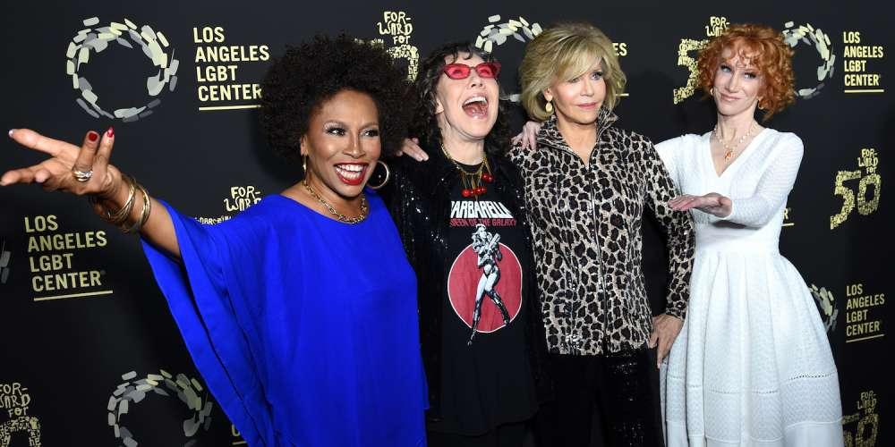 Звёзды отпраздновали 50 годовщину ЛГБТ-центра в Лос-Анджелесе
