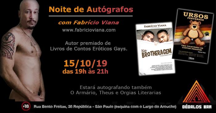 Escritor premiado Fabrício Viana
