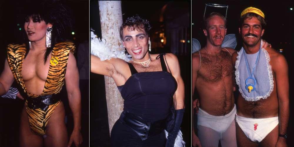 50 фотографий, доказывающих, что никто не праздновал Хэллоуин так, как геи из Западного Голливуда восьмидесятых