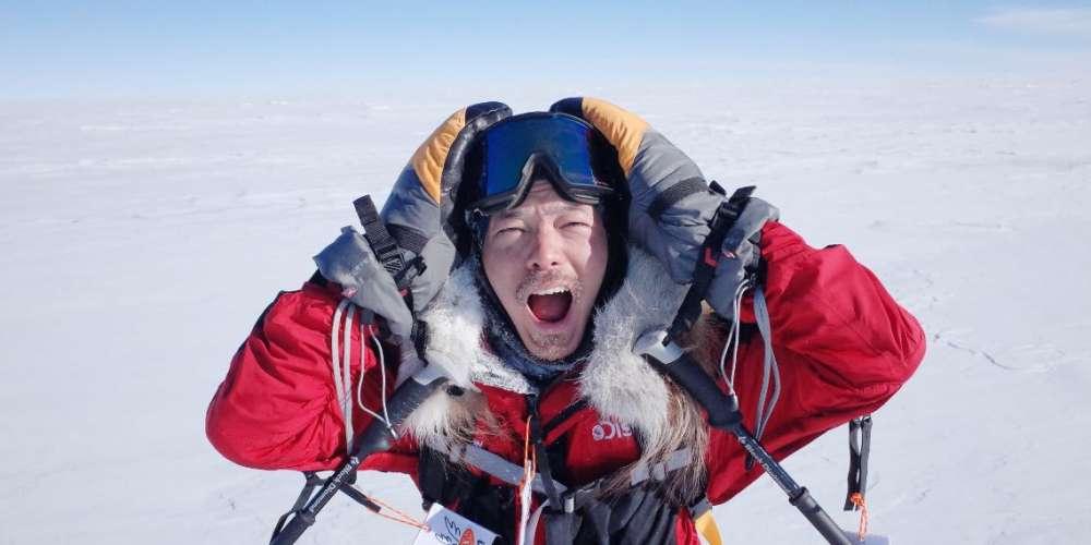 宥勝《叛逆南極:失敗者的遺言》紀錄零下三十度的冰原歷險