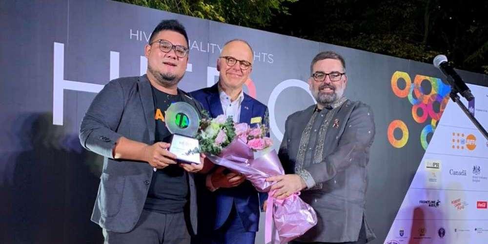 推動亞洲婚姻平權運動 婚姻平權大平台獲APCOM HERO AWARDS 2019