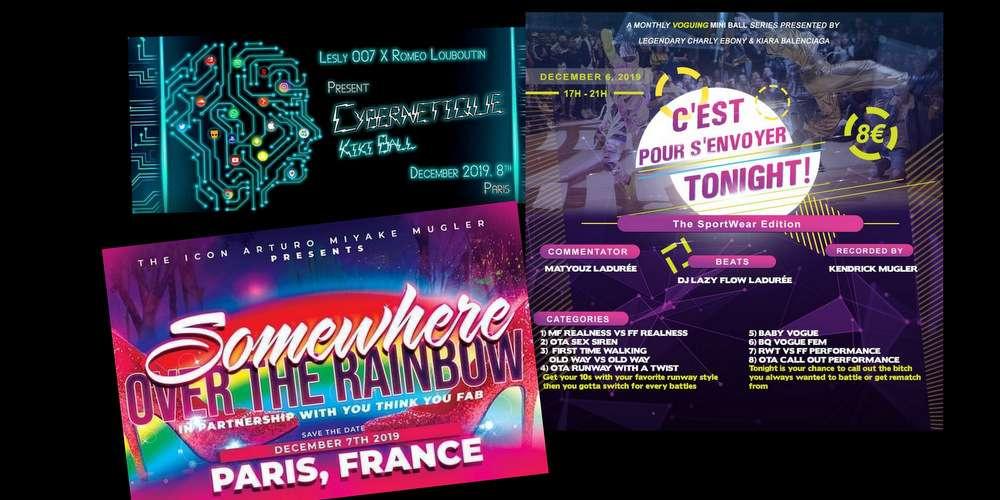 Voguing: Quatre événements ce week-end à Paris