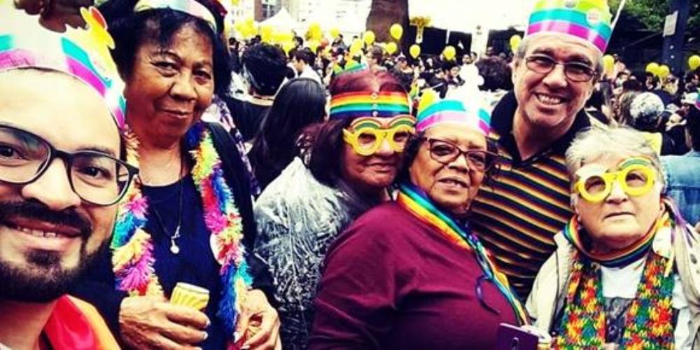 Colabore com o 1° Centro de Convivência e Referência para a população LGBT+ idosa ou em envelhecimento