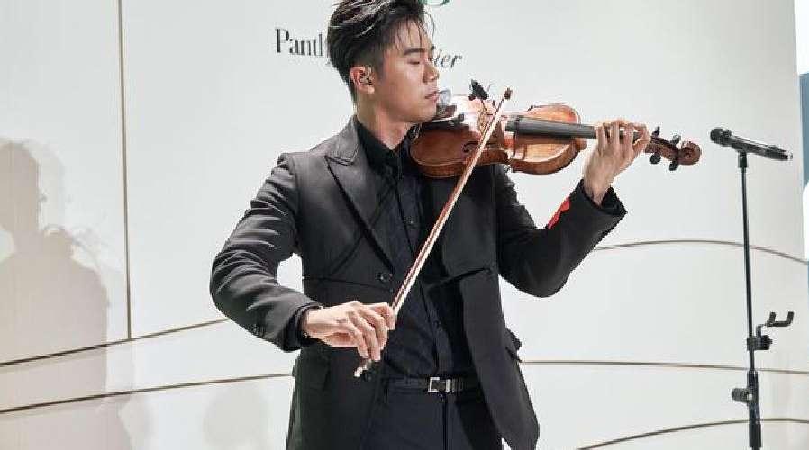 廖柏雅小提琴猛男學霸 成蕭敬騰師弟