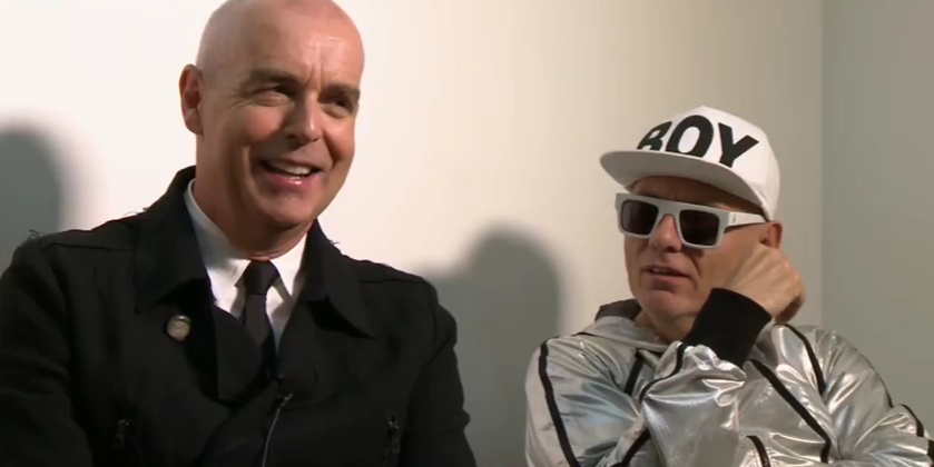 Les Pet Shop Boys au micro d'Augustin Trapenard