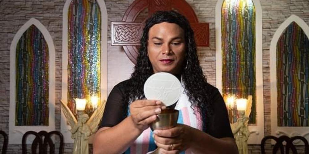Alexya Salvador será nomeada a primeira reverenda trans da América Latina