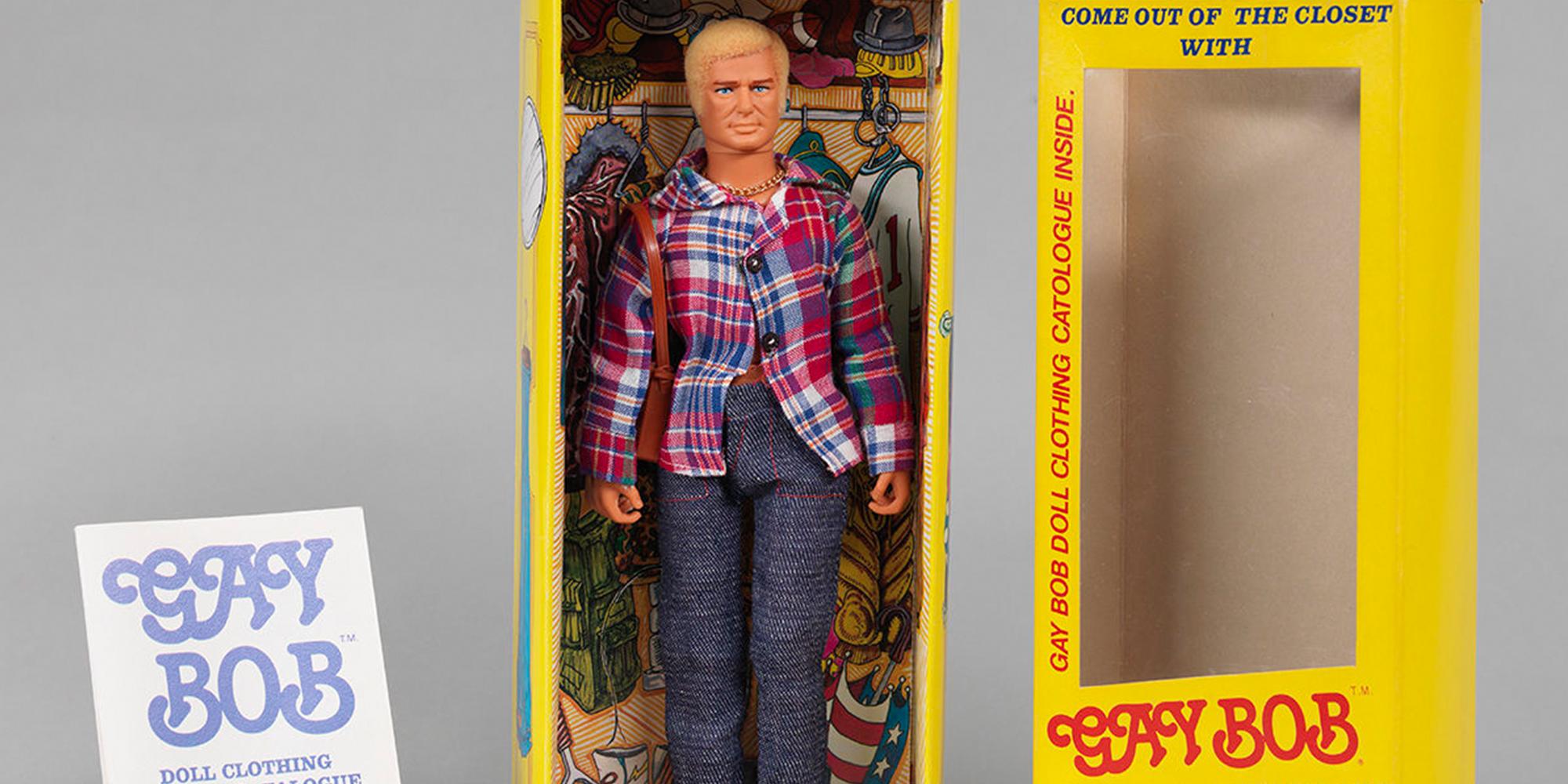 En 1978, la muñeca anatómicamente correcta 'Gay Bob' encandiló a los gays y a los homófobos asustados