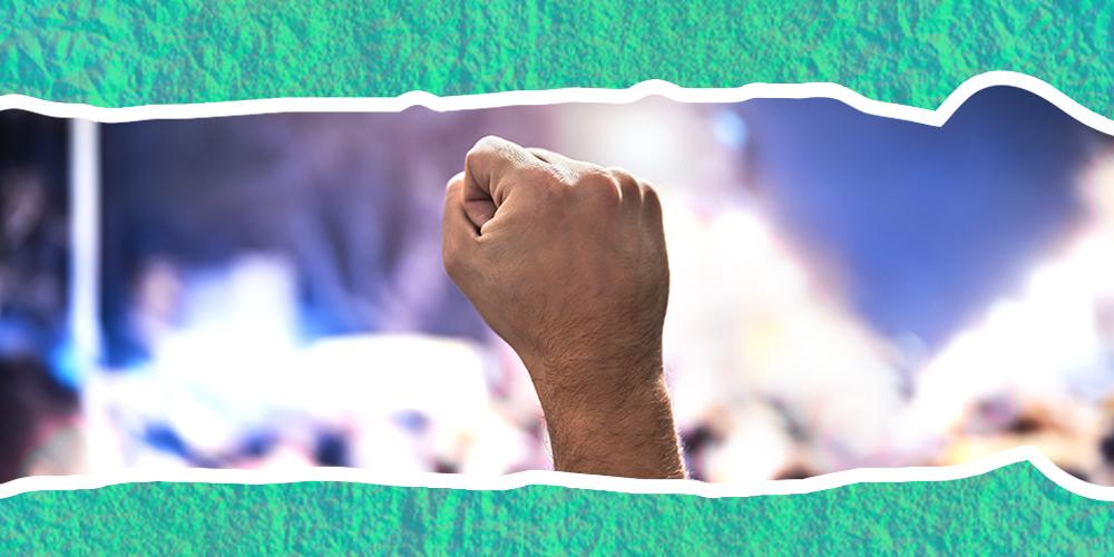 Los activistas han protestado con consoladores para dejar las cosas muy claras