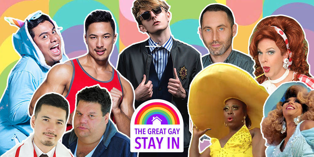 Here's All the Footage From Hornet's Day-Long Livestream Festival #GreatGayStayIn