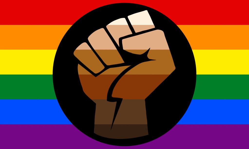 lgbtq flags resistance pride flag