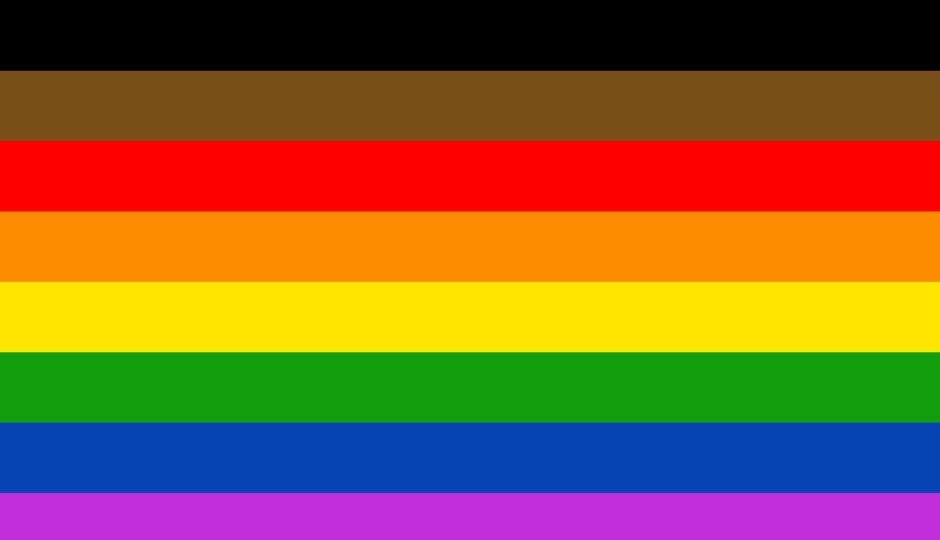 lgbtq flags philly pride flag