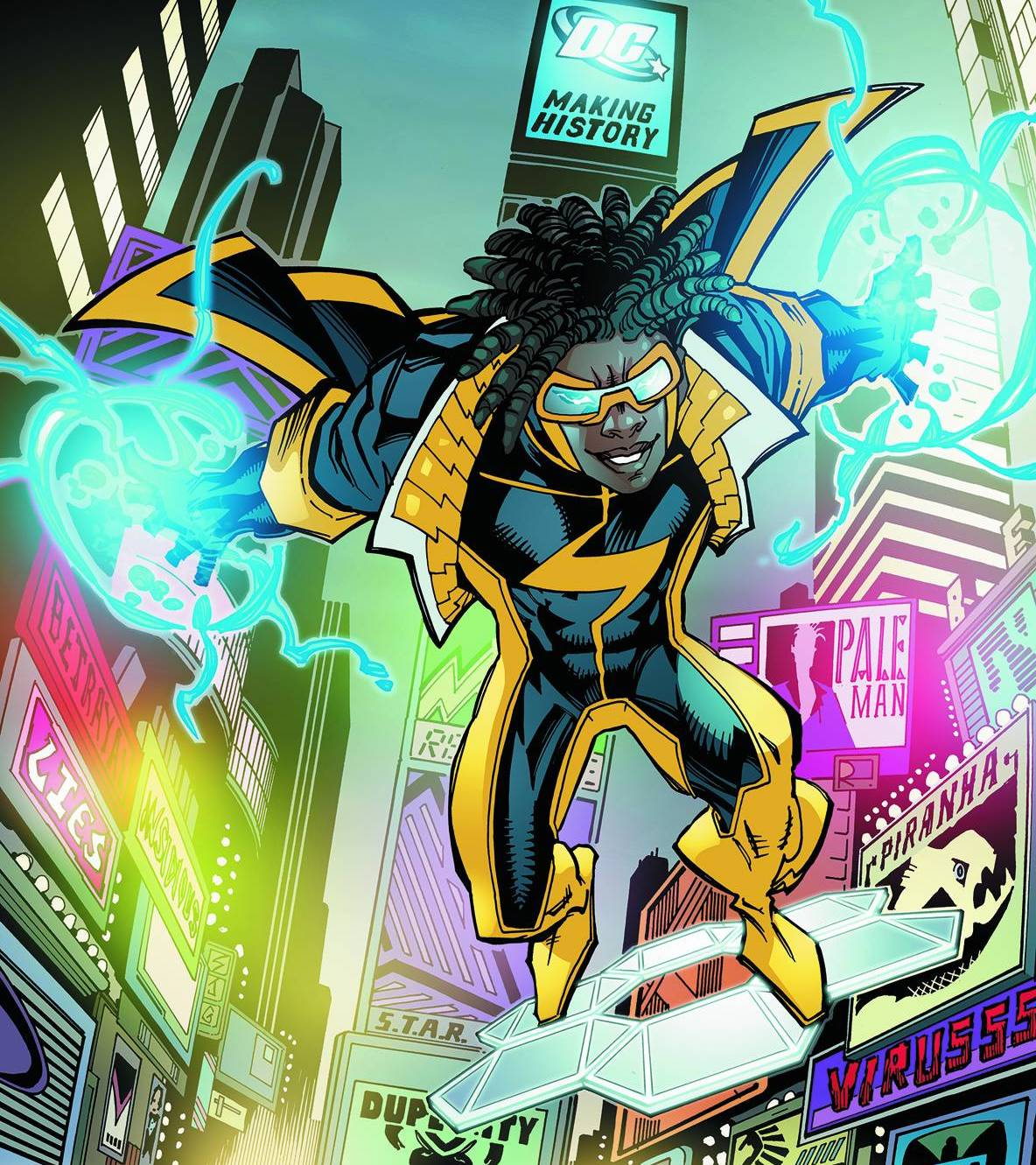 dc comics static shock