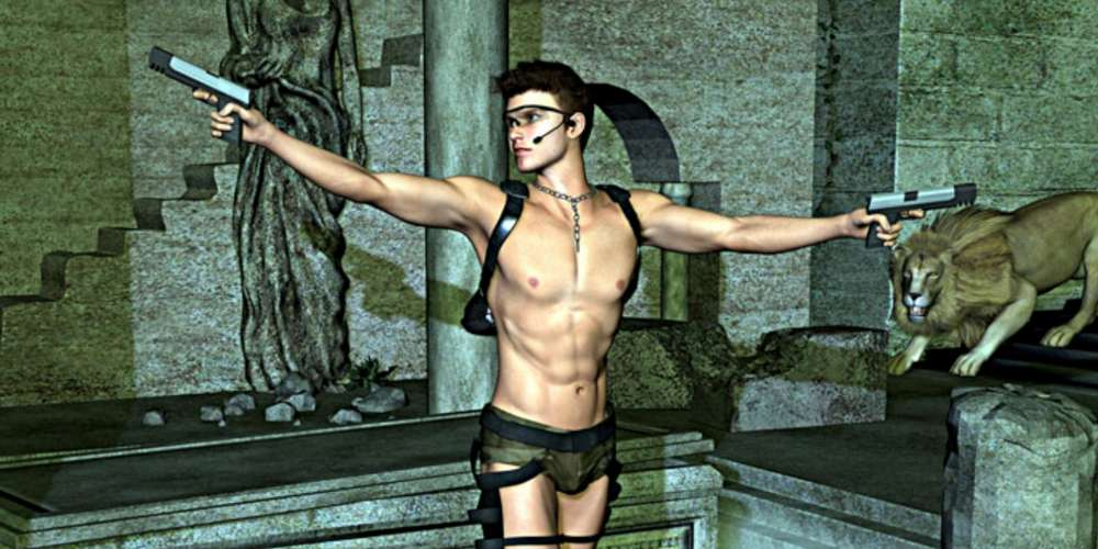 You'll Lust After the Male Version of Tomb Raider's Lara Croft
