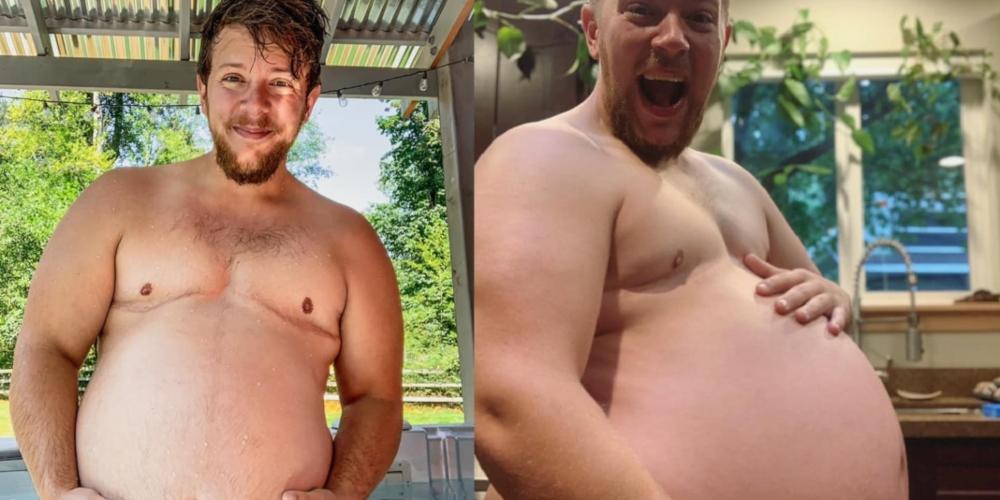 Homem trans viraliza na web com sua linda gravidez (fotos)