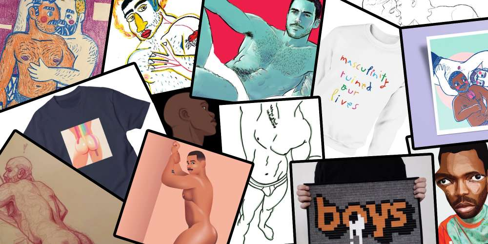 The Work of These 10 Gay Artists Make for Amazing Gifts This Holiday Season